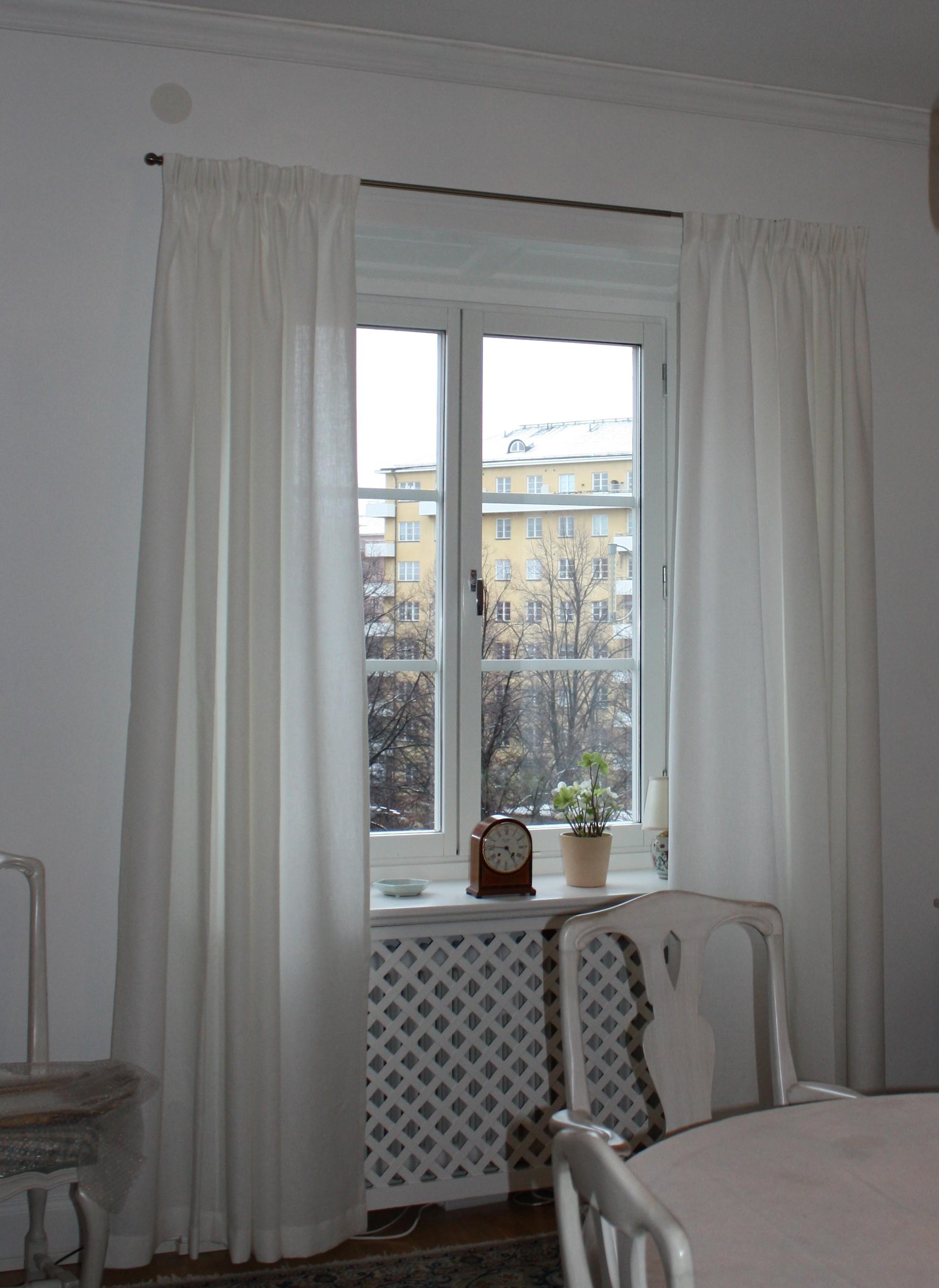 Gardiner i vardagsrum window design for Gardiner design